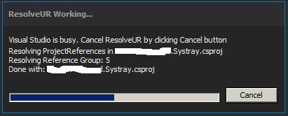 ResolveUR - Resolve Unused References - Visual Studio